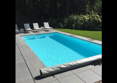 construction piscine en béton par Piscines Concept à Nandrin