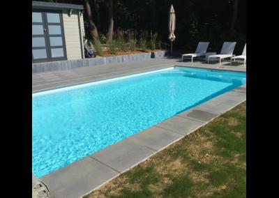 construction piscine béton par Piscines Concept à Nandrin
