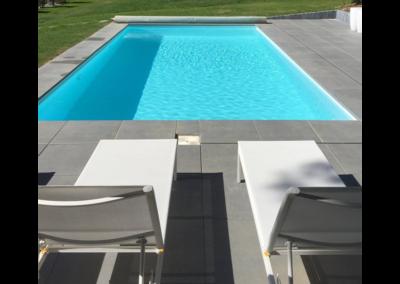 construction piscine en béton par Piscines Concept à Liège