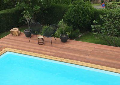 Construction piscine bois, piscines concept à Nandrin