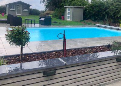construction piscine en béton à Marche en Famenne