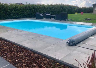 construction piscine en béton, Liège