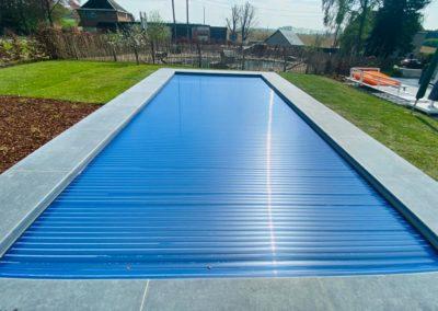 construction piscine en béton à Liège, Nandrin