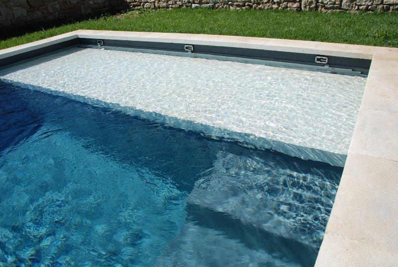 volet électrique piscine